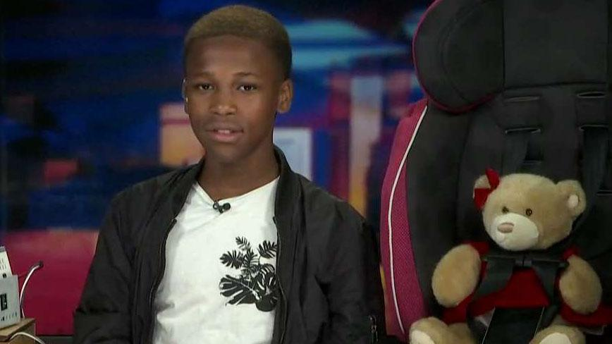 13-year old entrepreneur creates devices to prevent hot car deaths