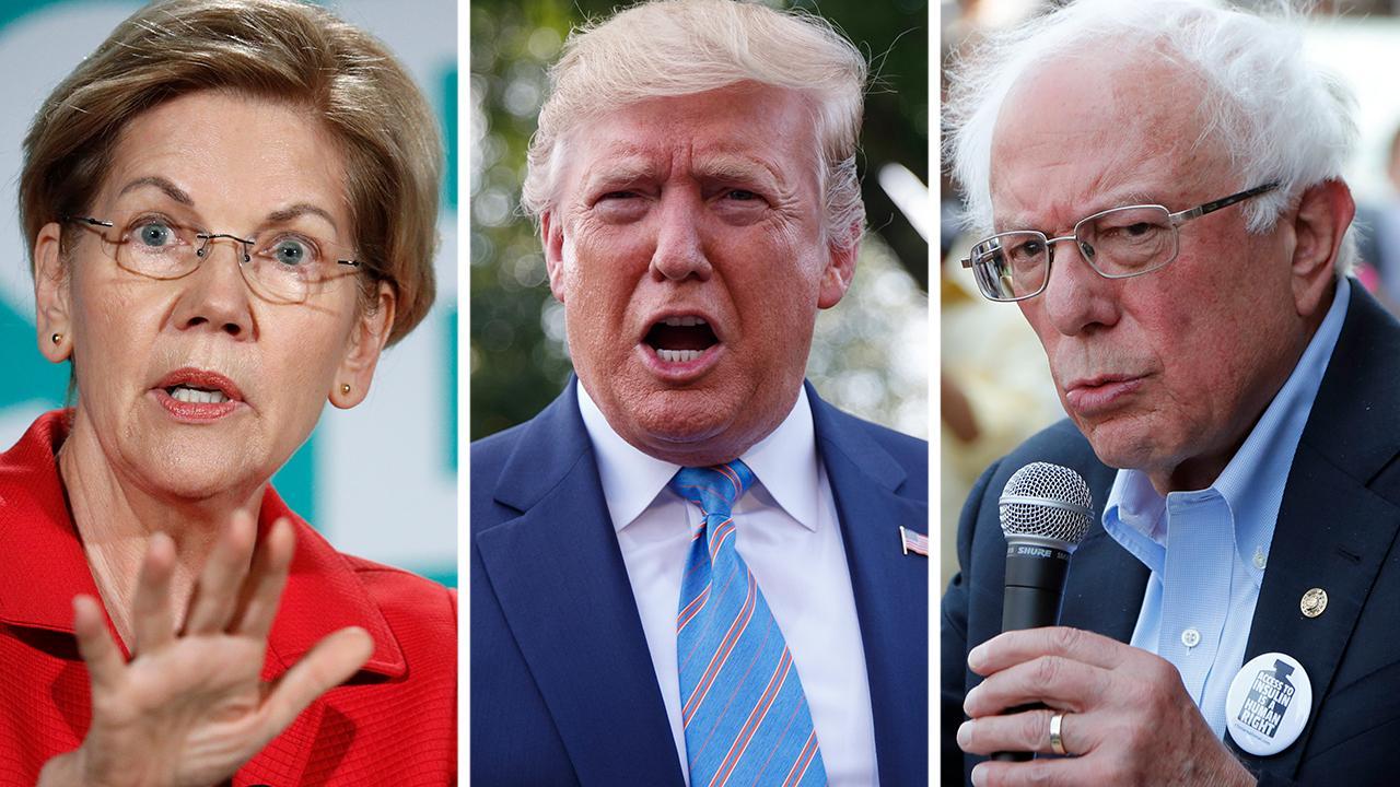 Democrats calling for stricter gun laws, blaming Trump for shootings