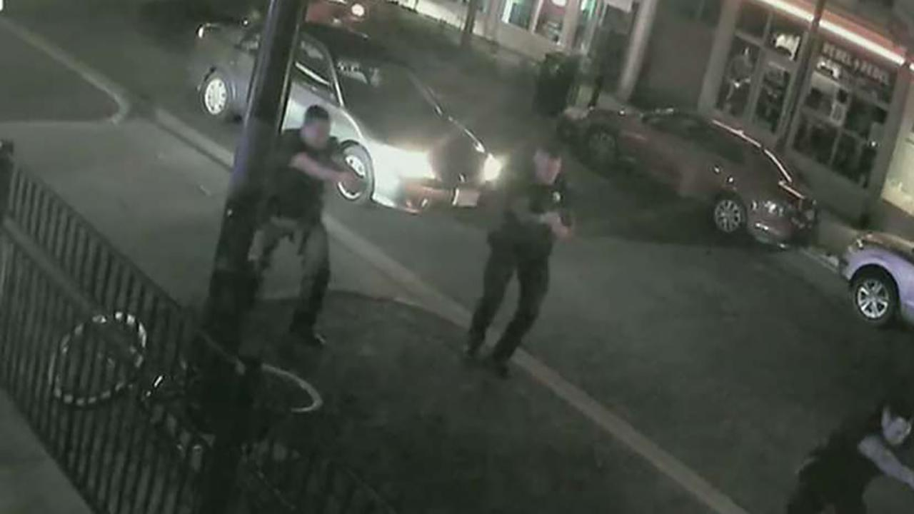 Ohio cops seen racing towards gunfire in Dayton to stop gunman