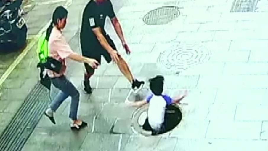 Westlake Legal Group 694940094001_6068572351001_6068573613001-vs Video shows 3-year-old boy's terrifying fall into manhole in China Greg Norman fox-news/world/world-regions/asia fox news fnc/world fnc article 35a3d1c2-5104-5545-a7bb-bb9bf96a3af7