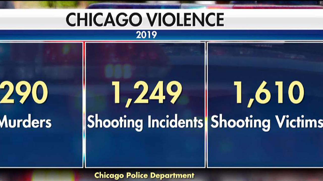 Seven killed, 46 injured in Chicago in another violent weekend