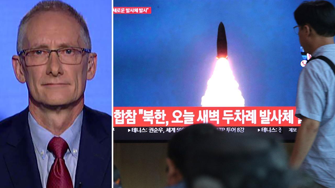 """前国家安全顾问说,朝鲜导弹试验""""令人担忧"""""""