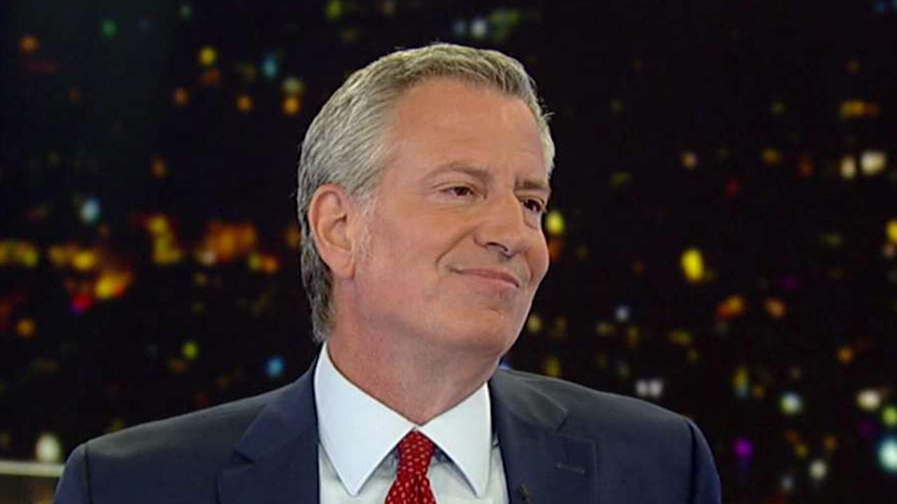 Bill de Blasio: NYPD will arrest any person who commits a crime