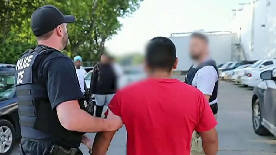 Nearly 700 arrested in one of the largest ICE raids in history