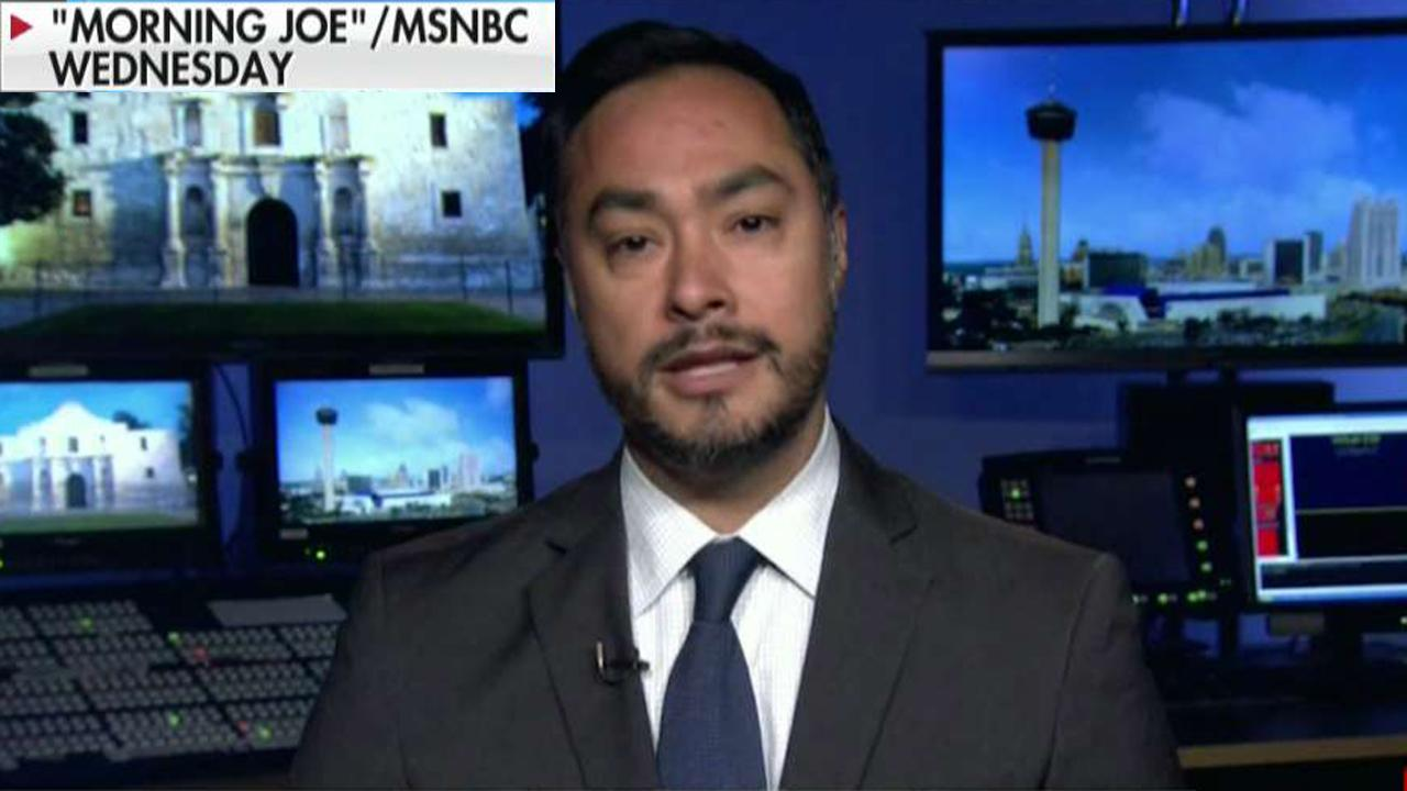 Joaquin Castro under fire for posting Trump donor list