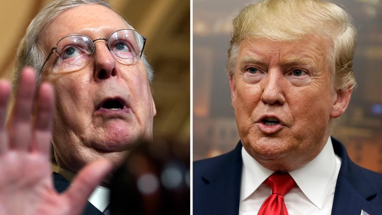 Mitch McConnell says Trump's Syria withdrawal is a 'grave' mistake