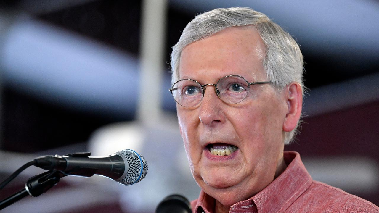 Westlake Legal Group 694940094001_6071503536001_6071501835001-vs Mitch McConnell recovering from shoulder surgery in Louisville fox-news/us/us-regions/southeast/kentucky fox-news/politics/senate fox-news/politics fox-news/person/mitch-mcconnell fox news fnc/politics fnc cb9a1f7c-0f76-5d0e-a7b5-b49cf729fc62 Brie Stimson article