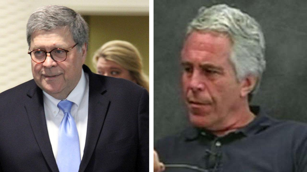 Westlake Legal Group 694940094001_6071664818001_6071663549001-vs Attorney General William Barr decries 'serious irregularities' in Epstein's detention, vows full investigation fox-news/politics/justice-department fox-news/person/william-barr fox-news/person/jeffrey-epstein fox news fnc/politics fnc Brooke Singman article 2207760e-448d-5731-bc40-4c58b3004c40