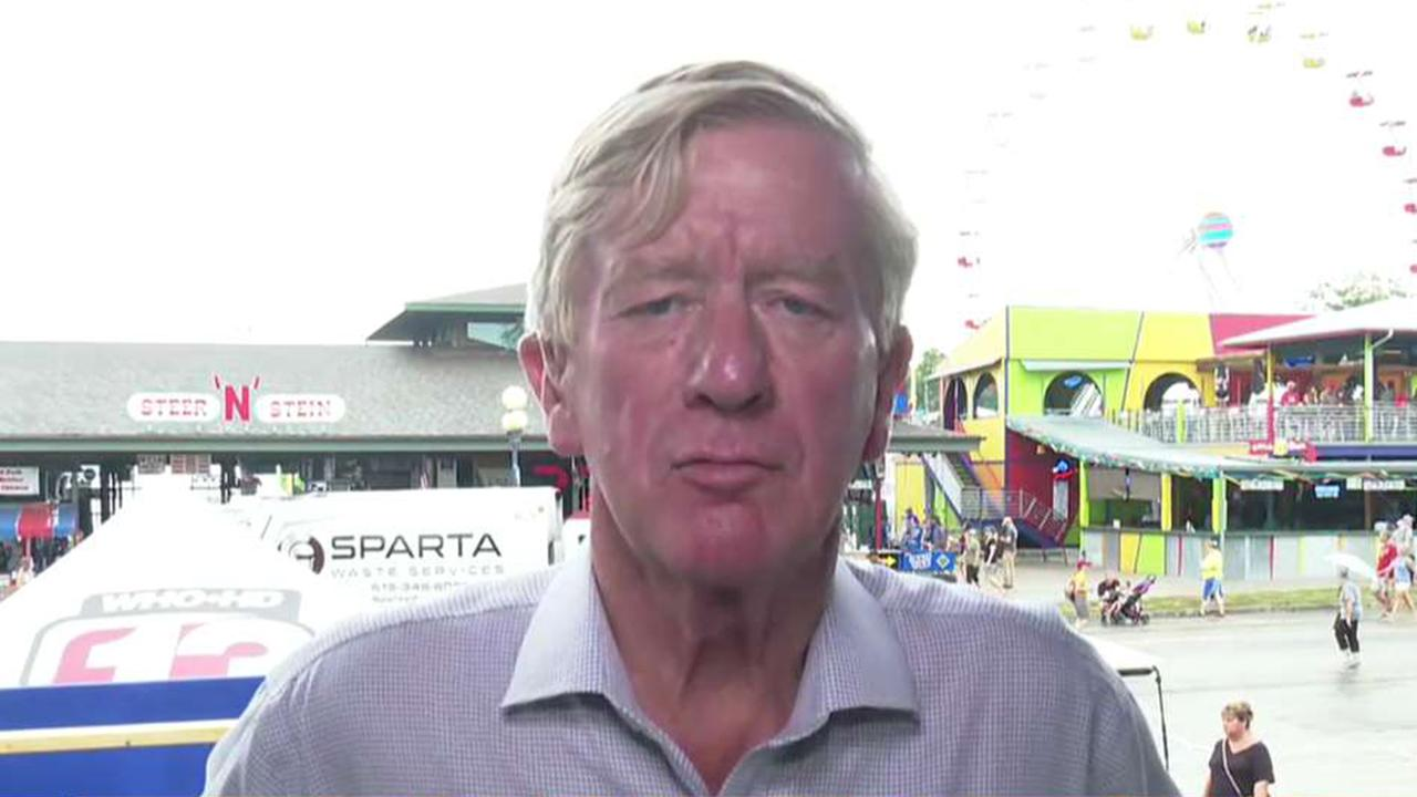 2020 Republican presidential candidate Bill Weld campaigns at the Iowa State Fair