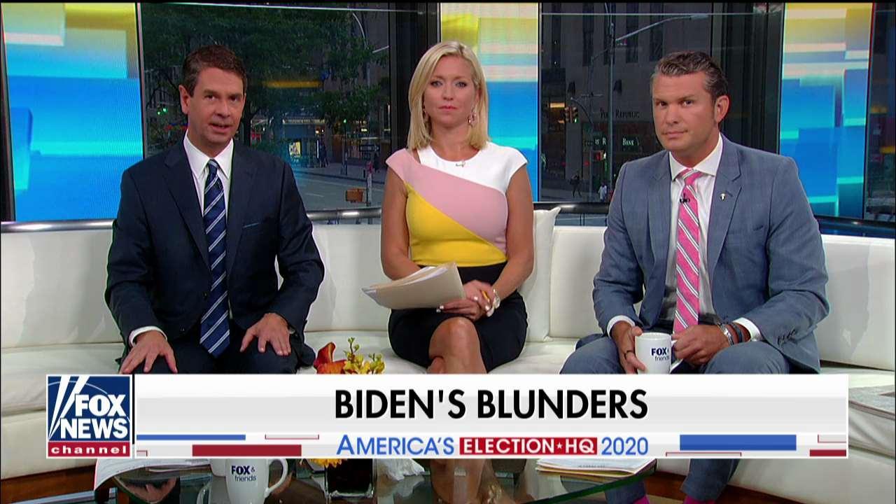 'Fox & Friends' takes on Joe Biden's blunders: 'He feels like a front-runner in name only'