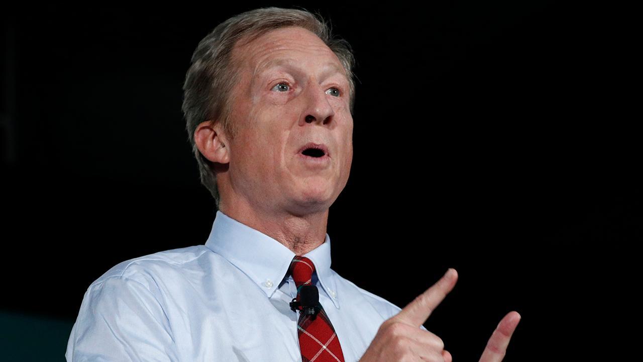 Billionaire Tom Steyer could make next Democratic debate