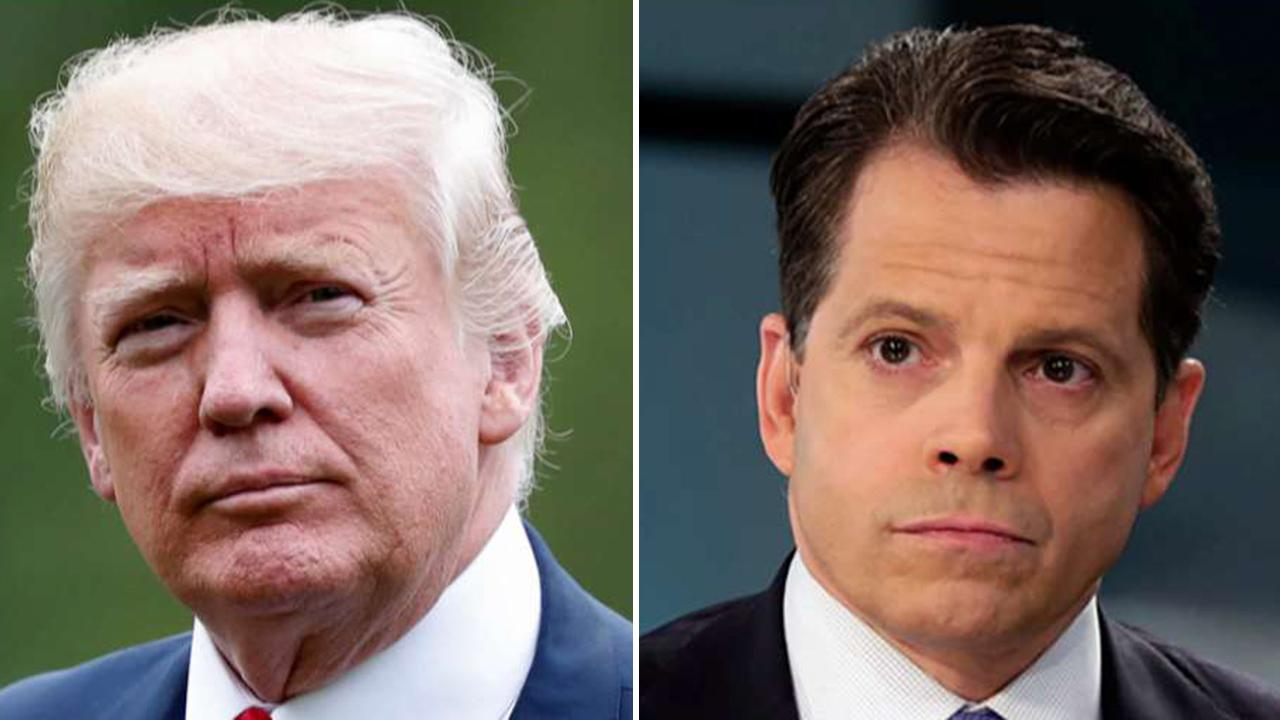 Westlake Legal Group 694940094001_6072921506001_6072910015001-vs Trump rages at 'unstable' Scaramucci after threat to organize ex-Cabinet officials against him Judson Berger fox-news/politics/2020-presidential-election fox-news/person/donald-trump fox news fnc/politics fnc article 57a103d9-e120-5da8-b661-be39cfeefe71