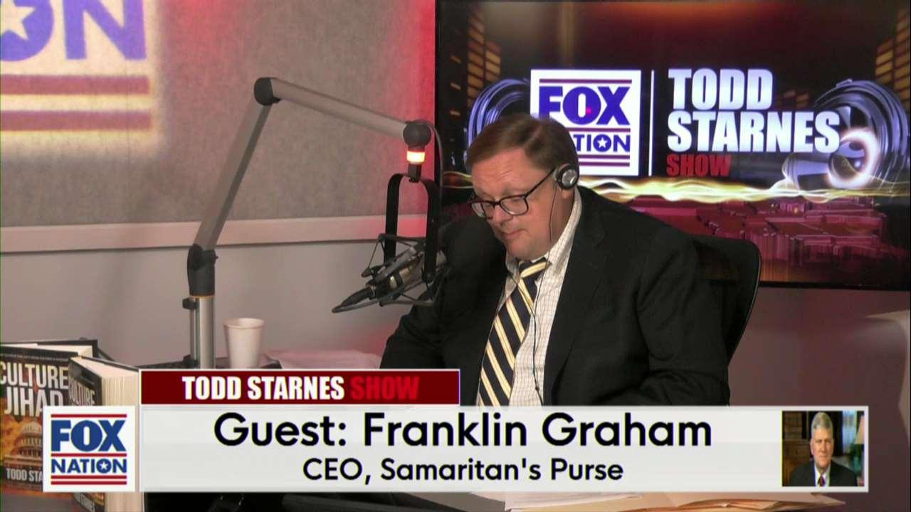 Todd Starnes: Franklin Graham has a warning for Christian 'influencers' renouncing their faith