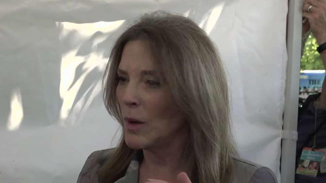 Unconventional candidate Marianne Williamson makes splash on campaign trail