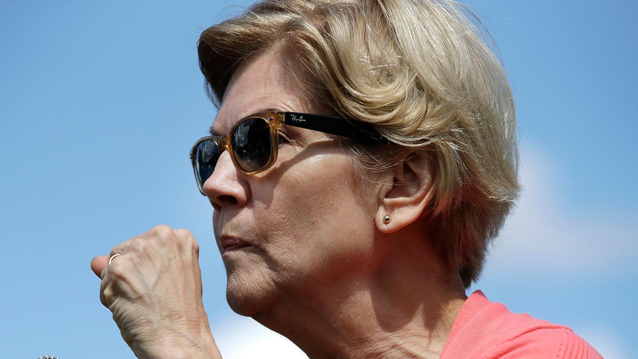 2020 Democrat Elizabeth Warren releases a plan aimed at 'uplifting' Native Americans