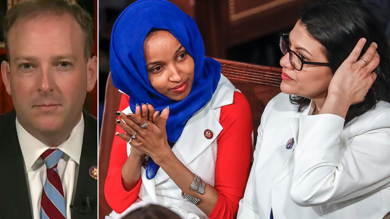 Tlaib, Omar are promoting policies that harm Israel, Rep. Lee Zeldin says