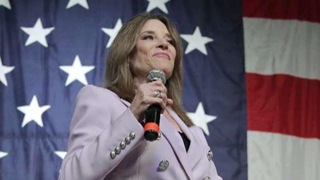 Westlake Legal Group 694940094001_6074563635001_6074562359001-vs Marianne Williamson says liberals are 'mean' and lie: 'I thought the right did that' fox-news/media fox news fnc/politics fnc Brian Flood article a0fbeb7a-9bd0-5c2e-8b9d-2948a914bb64