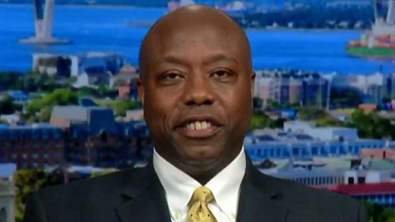 Westlake Legal Group 694940094001_6074563668001_6074565687001-vs Sen. Tim Scott: Democratic presidential candidates trying to dupe African-American voters Frank Miles fox-news/politics/2020-presidential-election fox news fnc/politics fnc f07f3c43-a938-5549-8f3b-d12183d9b7b5 article