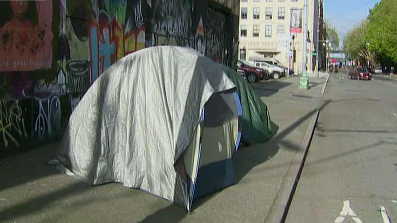 City officials blame big businesses for San Francisco's homeless crisis