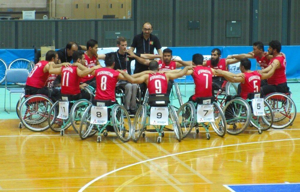 Pro athletes unite to bring wheelchair basketball and healing to those trapped in war