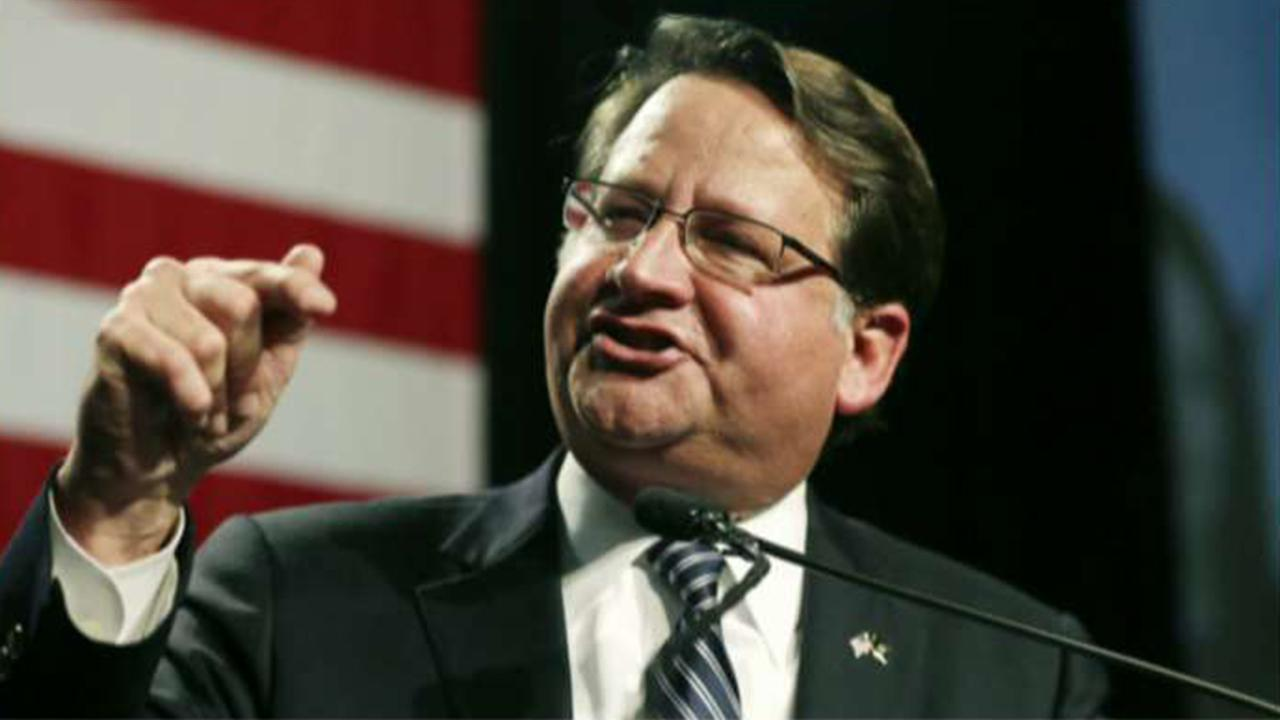 Republican John James challenges Sen. Gary Peters in key battleground state