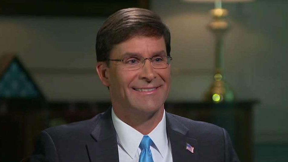Defense Secretary Mark Esper talks 'red lines,' reports of ISIS resurgence