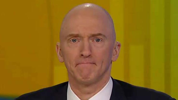 Carter Page on his work as a government informant