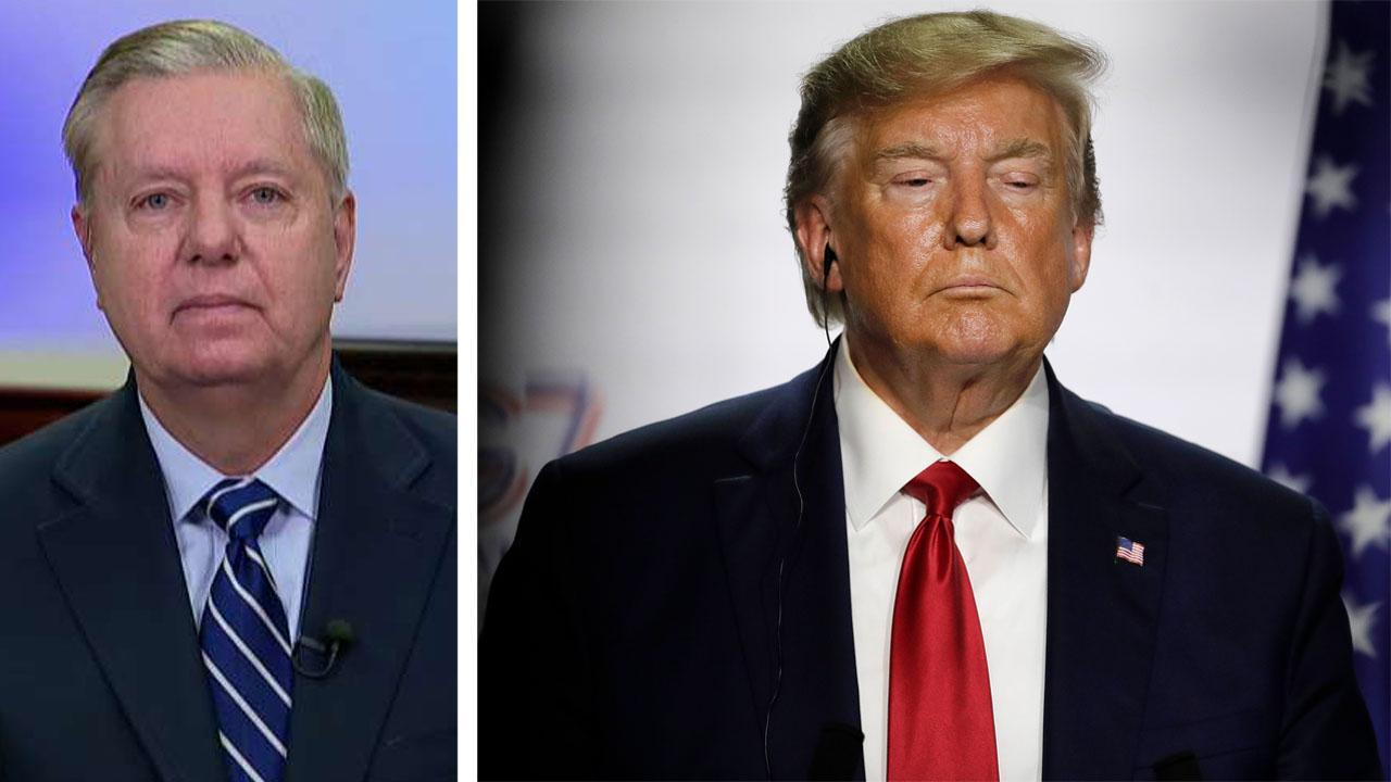 Send people to Washington who don't hate Trump, Sen. Lindsey Graham says