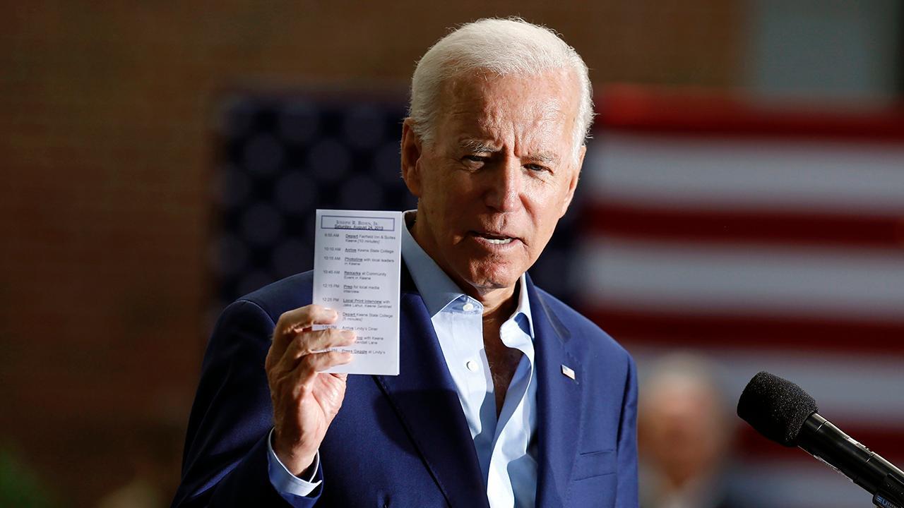 Joe Biden campaigns in Virginia without Gov. Ralph Northam