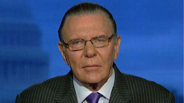 Jack Keane: China is clearly No. 1 threat to US