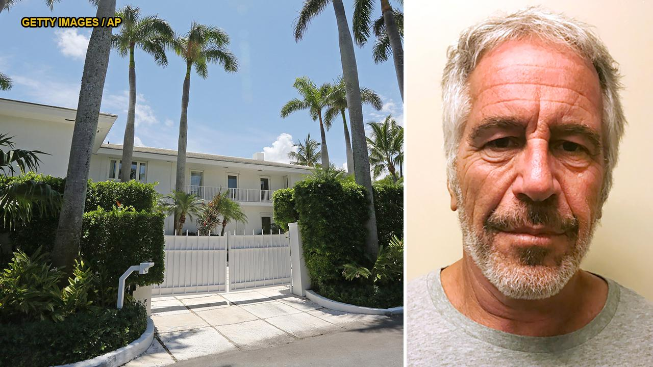 WATCH: Video of raid on Jeffrey Epstein's Palm Beach mansion reveals home decorated in part with illicit photos