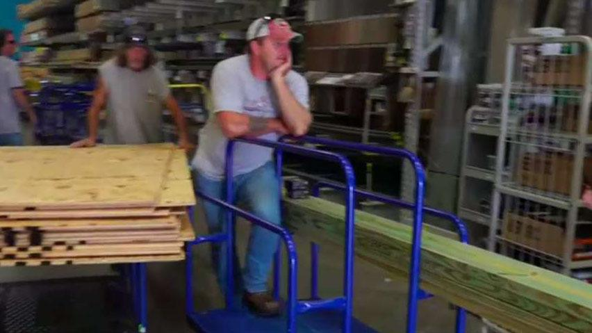 Melbourne, Florida residents flock to hardware stores to