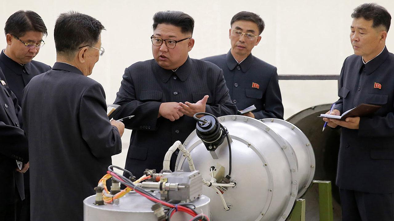 北朝鮮は、火力発不明の飛ソウルという