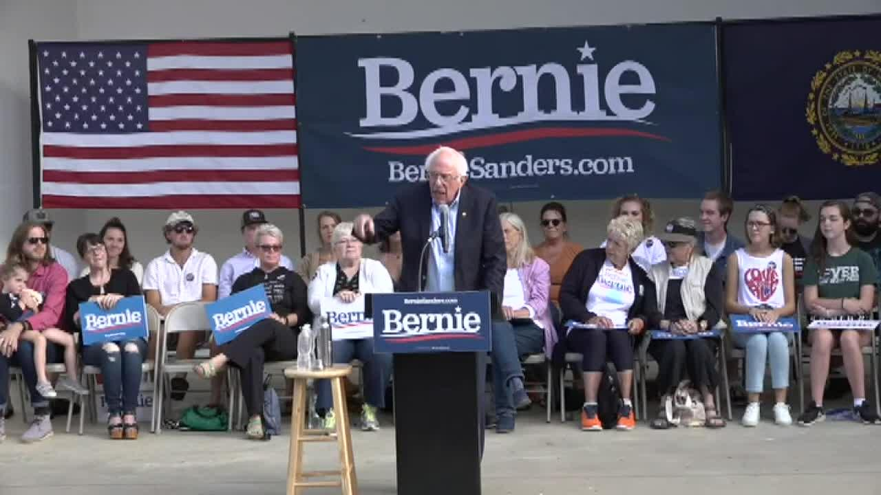 Bernie Sanders to 'corporate elite' benefiting from Trump tax breaks: 'Spend that money quick'