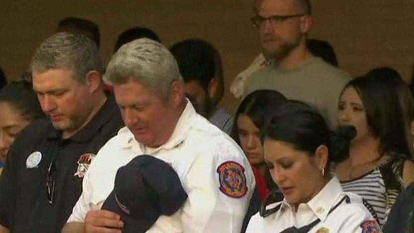 Hundreds mourn Odessa shooting victims at Texas vigil