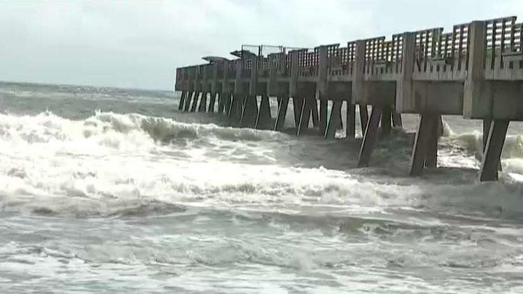 Florida beaches, airports closed as Hurricane Dorian churns over the Bahamas
