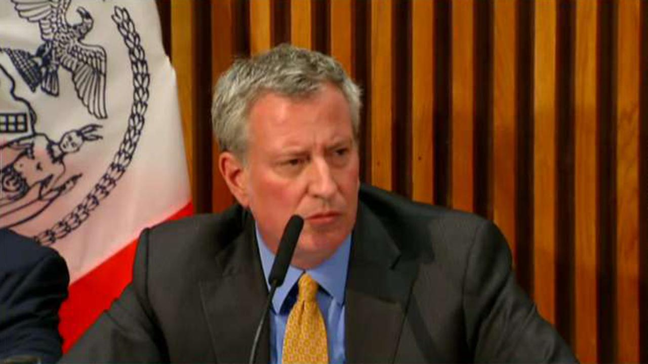 NYC Mayor Bill de Blasio spent only 7 hours at city hall in May
