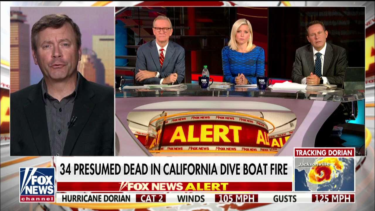 Underwater cinematographer on California dive boat fire: It was a 'freak accident'