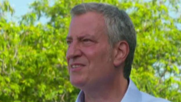 De Blasio reportedly spent 7 hours in City Hall in May