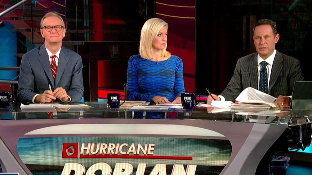 Ocasio-Cortez, Sanders sound the alarm on climate change amid Hurricane Dorian