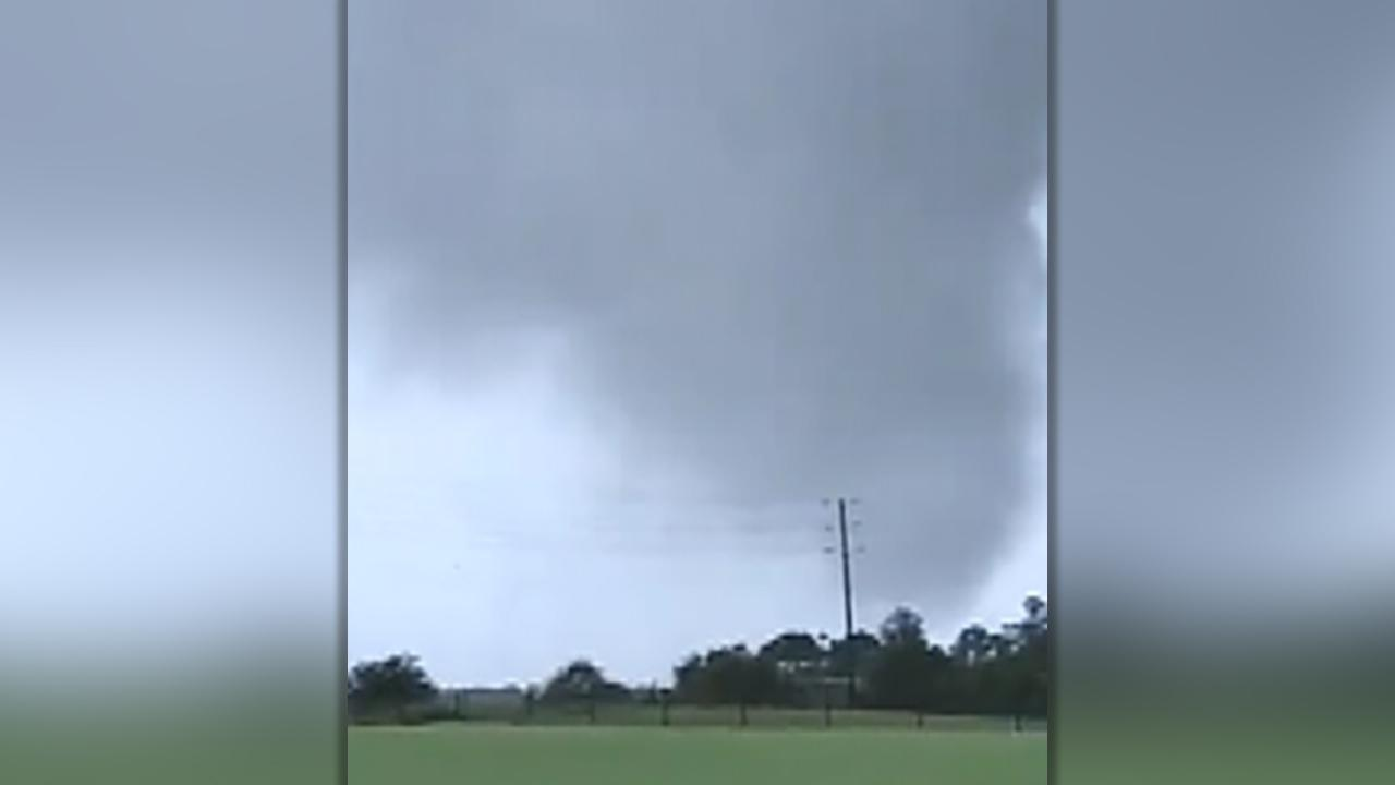 Tornado touches down in Pender County, NC