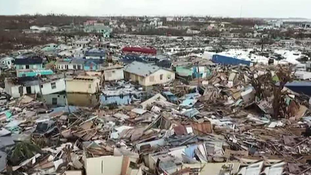 New images show scale of Hurricane Dorian's destruction in Bahamas