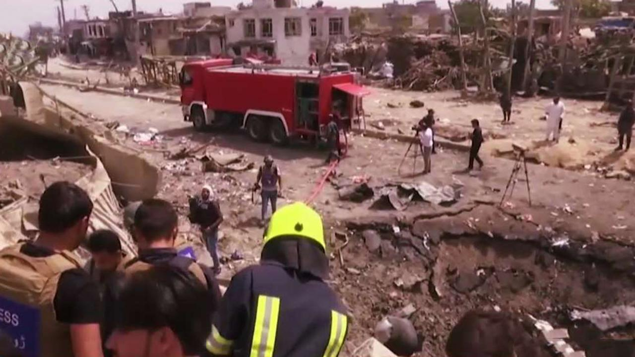 American soldier among those killed in Kabul car bombing as US works to finalize Afghanistan peace deal