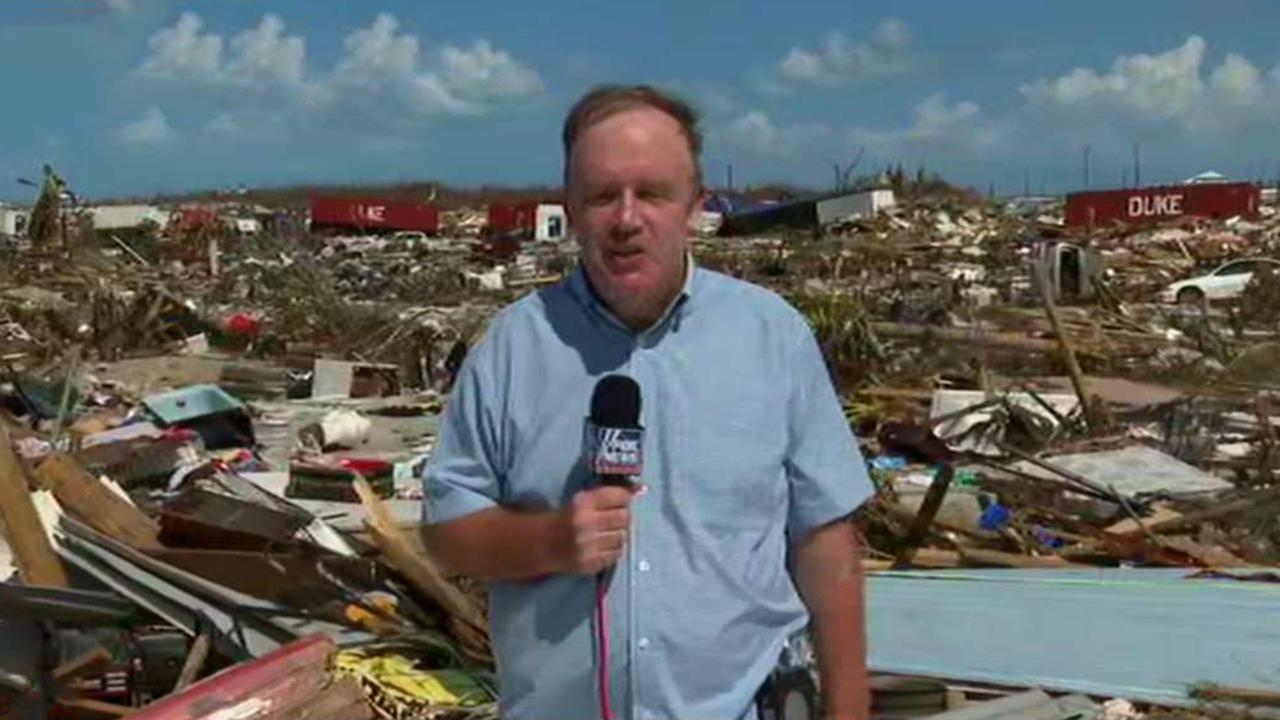 Steve Harrigan reports from Abaco, Bahamas on the devastation from Hurricane Dorian