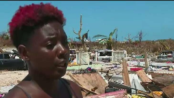 Some Hurricane Dorian victims looting for food and supplies in the Bahamas