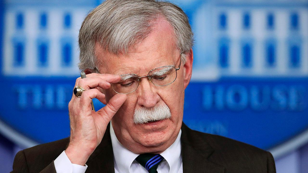 John Bolton says he resigned in text to Fox News' Brian Kilmeade