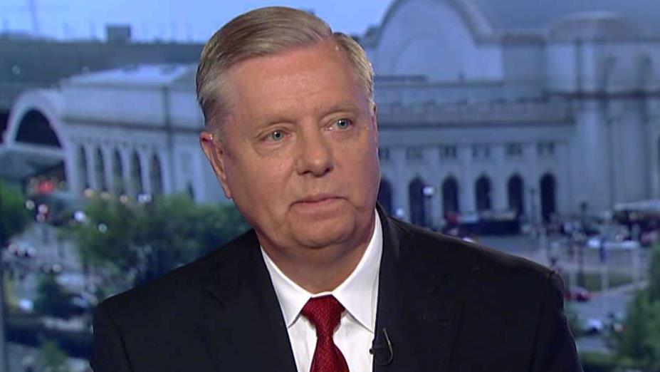 Sen. Lindsey Graham on the departure of John Bolton as national security adviser