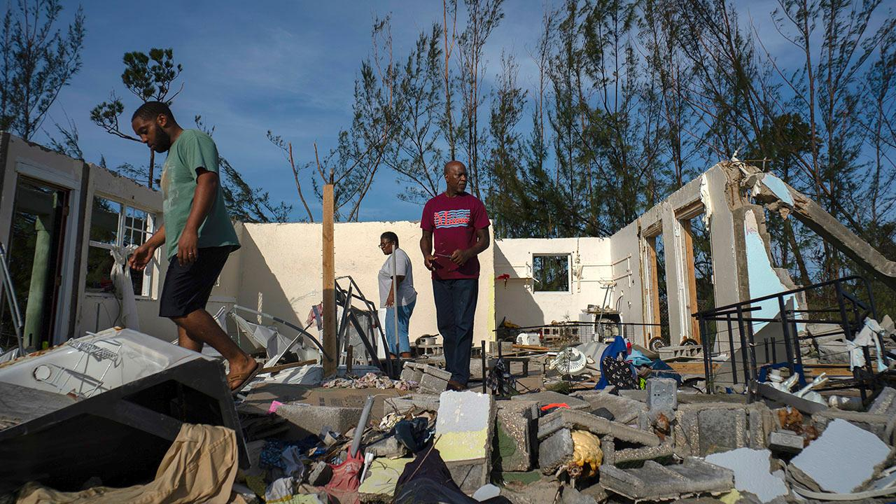 Death toll rises to at least 50 in the Bahamas