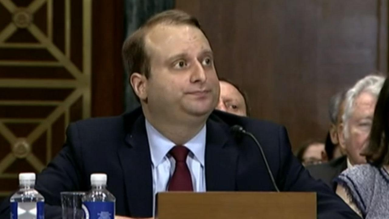 Trump judicial nominee rejects allegations that he is an advocate of 'racial purity'