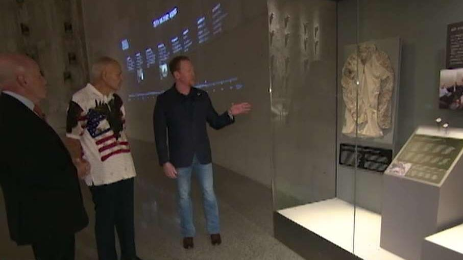 Rob O'Neill, Bernard Kerik take emotional tour through September 11 museum